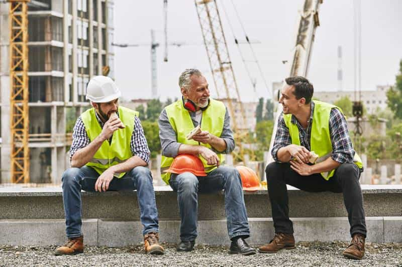 construction worker salary